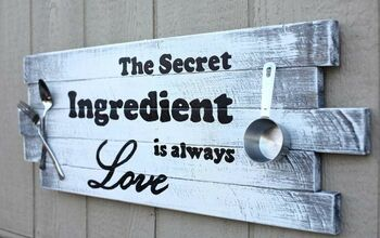 Wooden Kitchen Sign