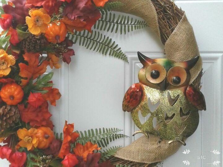 Garden Stake Owl Accent