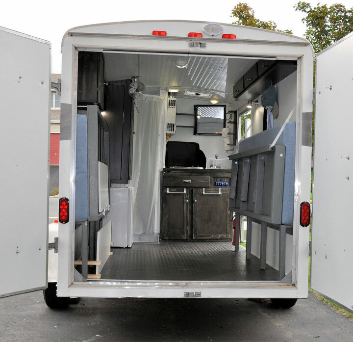 Cargo Trailer Conversion Camper