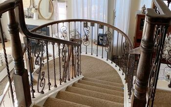 Before & After Staircase Transformation
