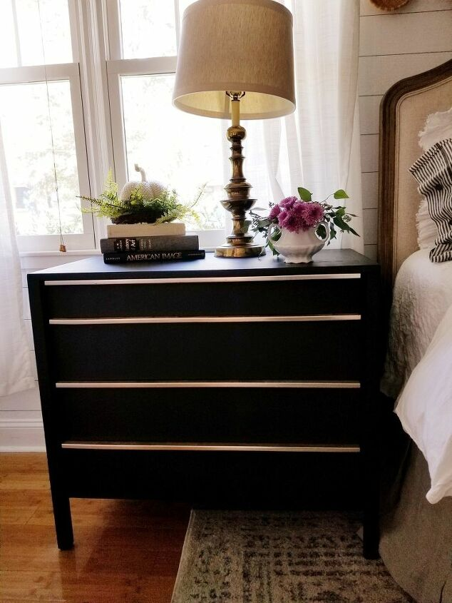 giving and old dresser a new life and adding more storage