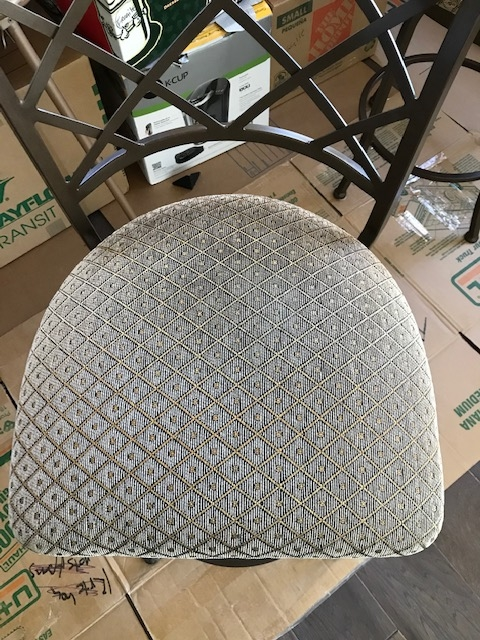 q how to paint these bar chairs