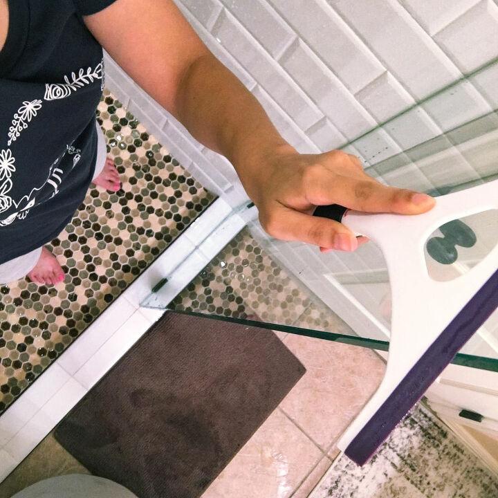 diy glass shower door cleaner