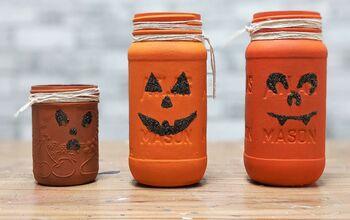 Painted Pumpkin Mason Jar Craft
