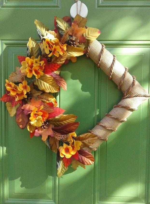 Fall Diagonal Wreath