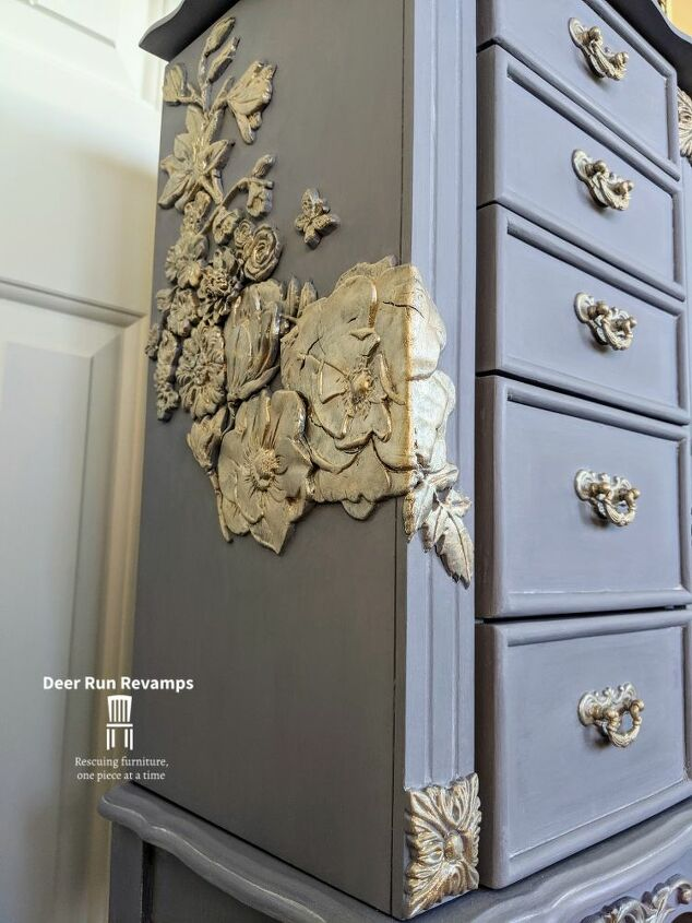 DIY Floral Accented Furniture