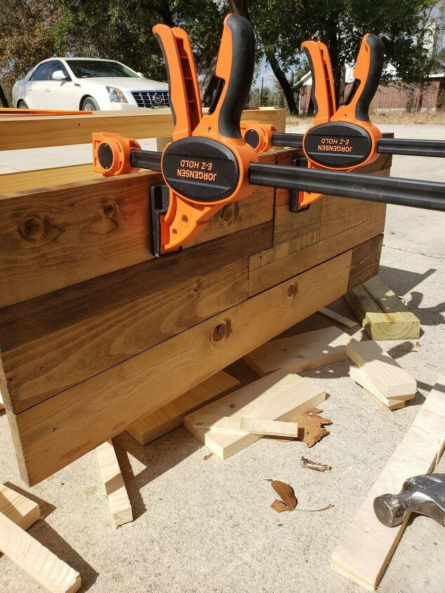 build a storage bed featuring scrap wood