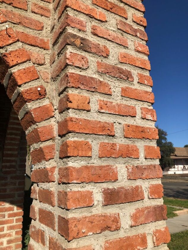 q what can i do about my old bricks