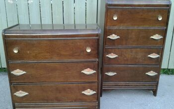 Antique Dresser Makeover- Hardware Finishes