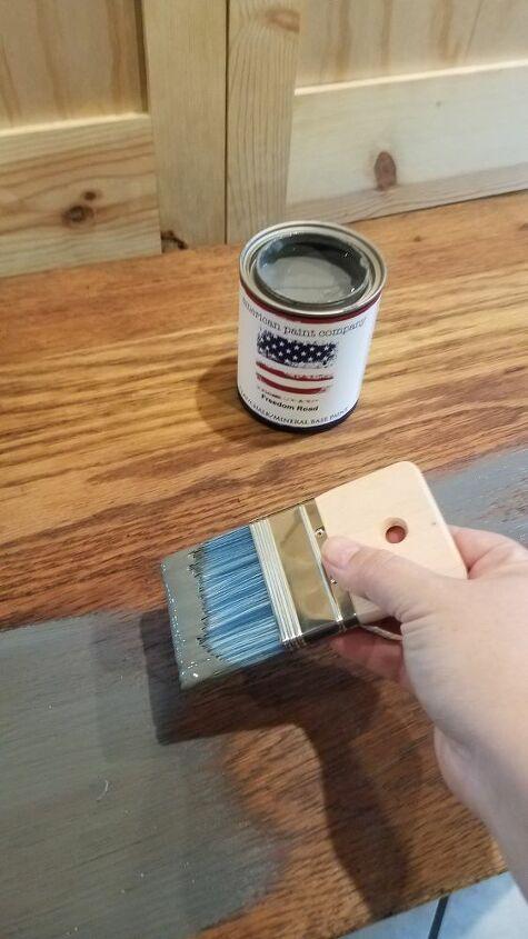 oak dresser makeover