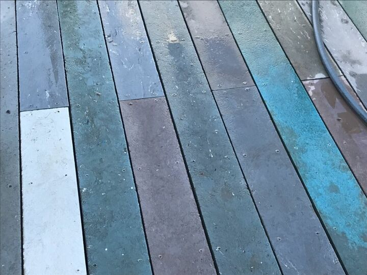 q can i paint my composite decking