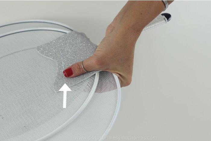 how to make a dollar tree splatter screens pumpkin