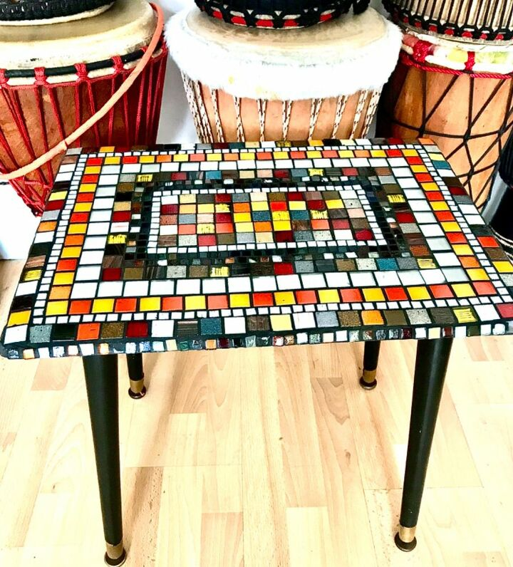 Upcycled Mosaic coffee table