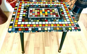 How to Transform an Old Coffee Table With Mosaic