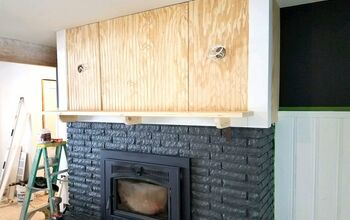 Before & After: Fireplace Renovation