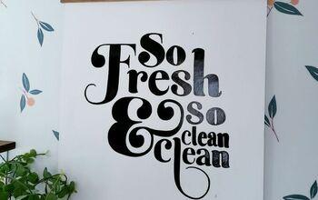 DIY Laundry Room Wall Art