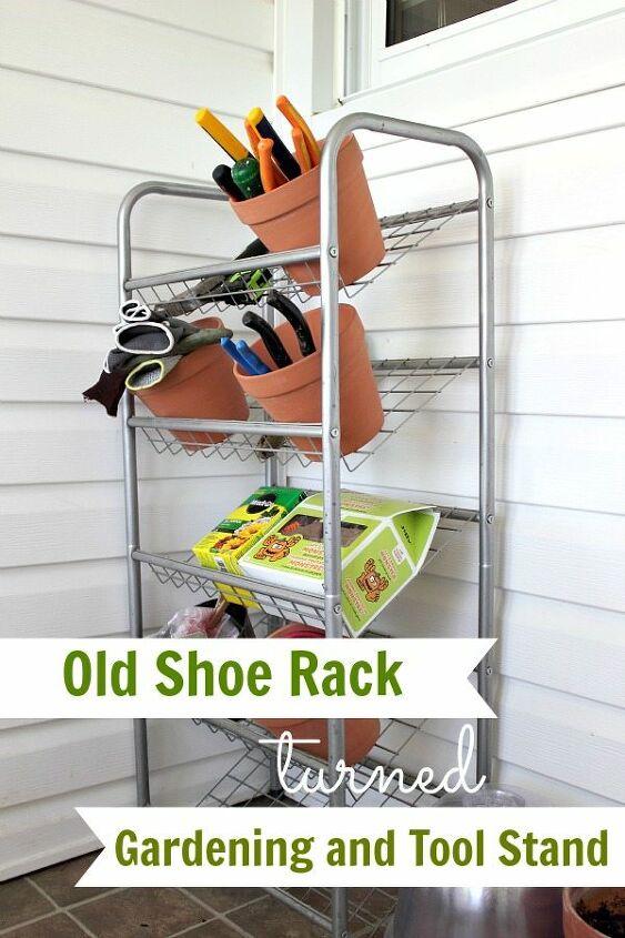 outdoor shoe rack organizer