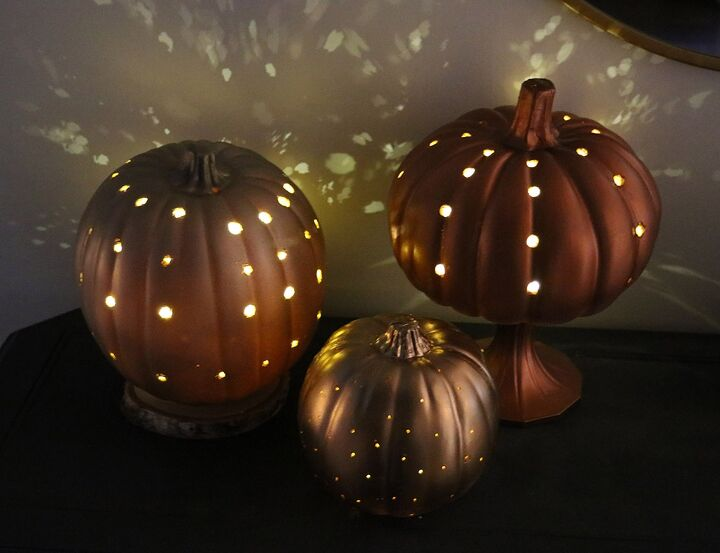 s 30 pumpkin projects for people that are totally obsessed with pumpkins, DIY luminary pumpkin lanterns