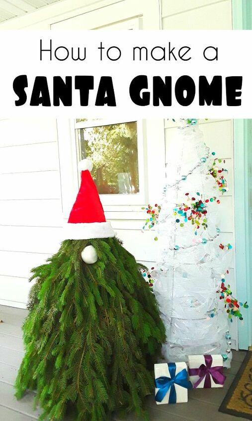 how to make a christmas holiday front porch santa gnome