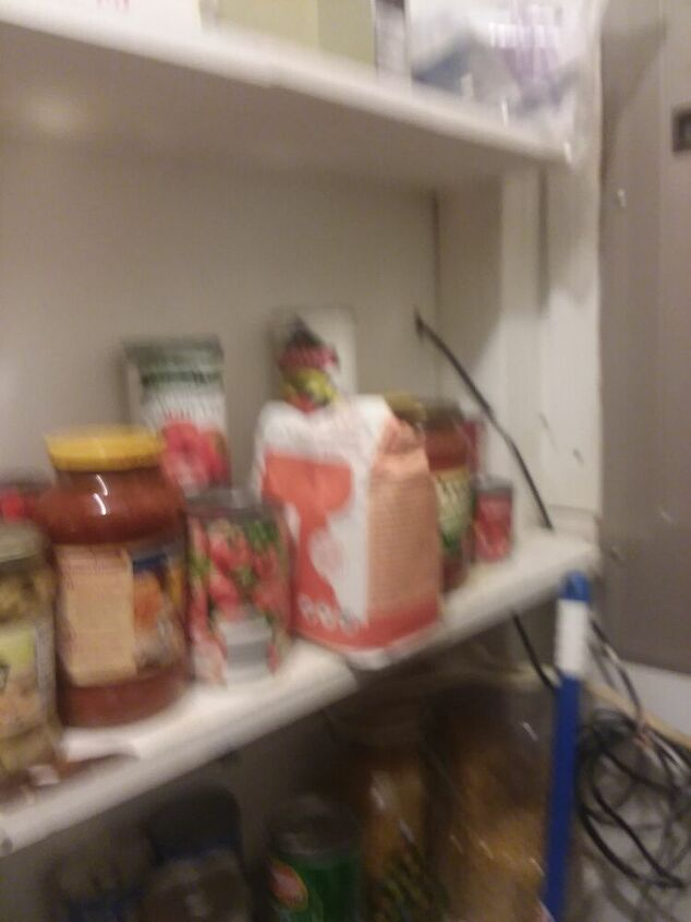 q get more space in my pantry i rent so it can t be too drastic