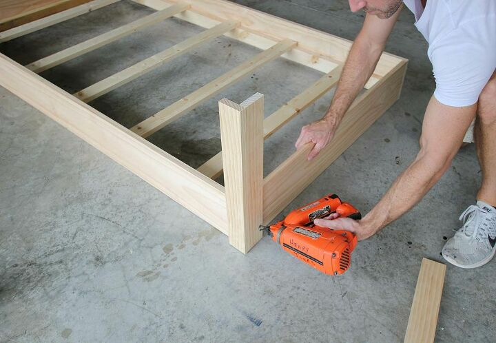 how to build a porch swing bed
