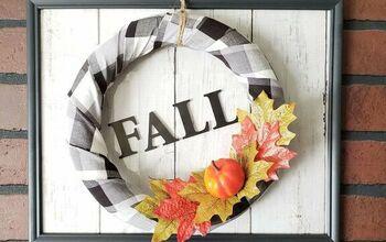 Charming Farmhouse Fall Wreath