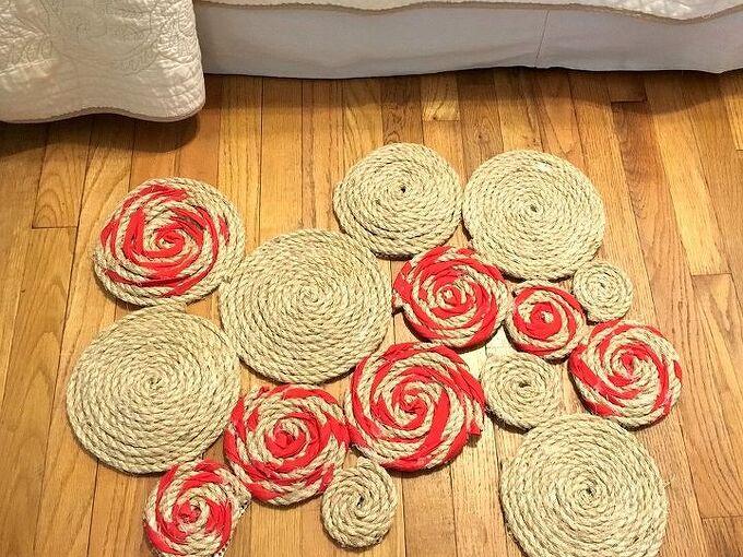 rope spandex rug