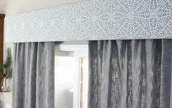 DIY Fabric Cornice Box | Add Character to Your Windows for Less