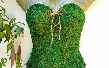 From Plastic Mannequin to Gorgeous Garden Art