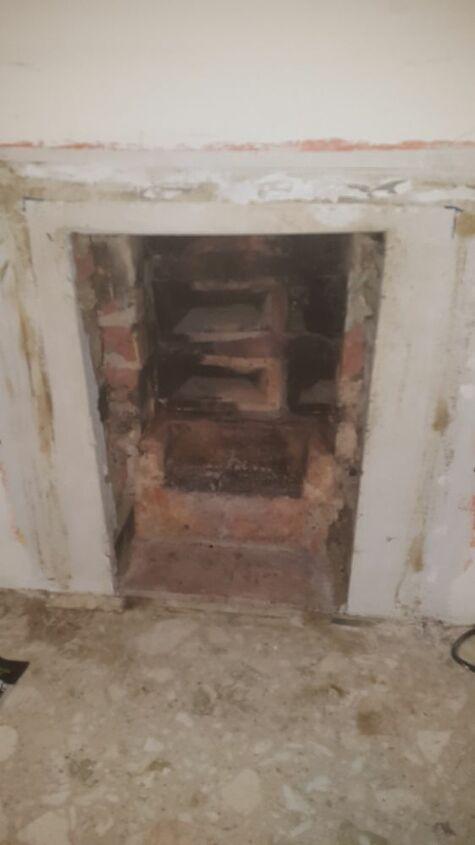 q open fire place
