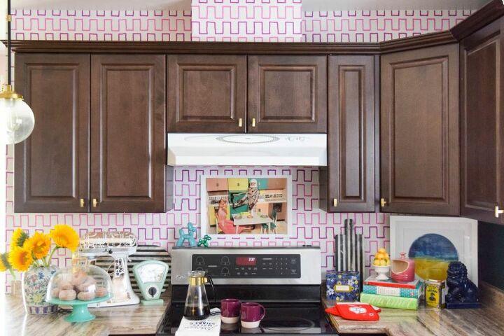 removable kitchen wallpaper backsplash