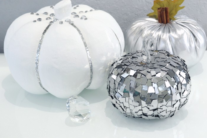 how to make a mirrored pumpkin without mirrors