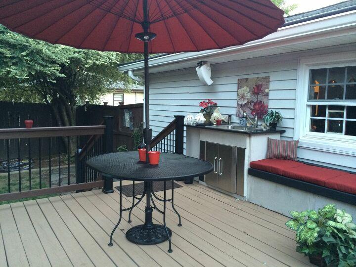 cheap DIY Outdoor Kitchen