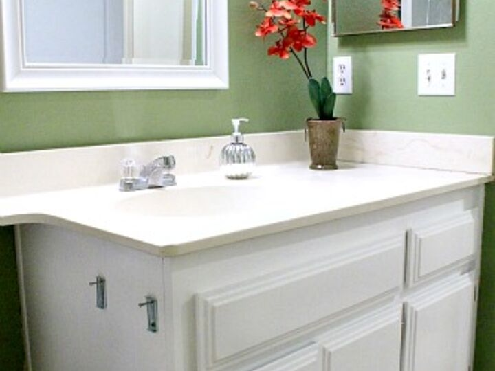 How to Turn a Bathroom Cabinet Into a Bold Interior Feature