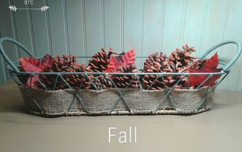 Fast and Easy Seasonal Decor With Pine Cones