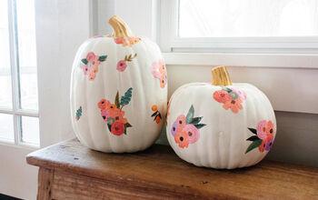 DIY Pretty Patterned Pumpkins