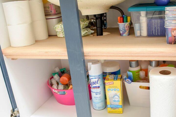 20 bathroom vanity shelf