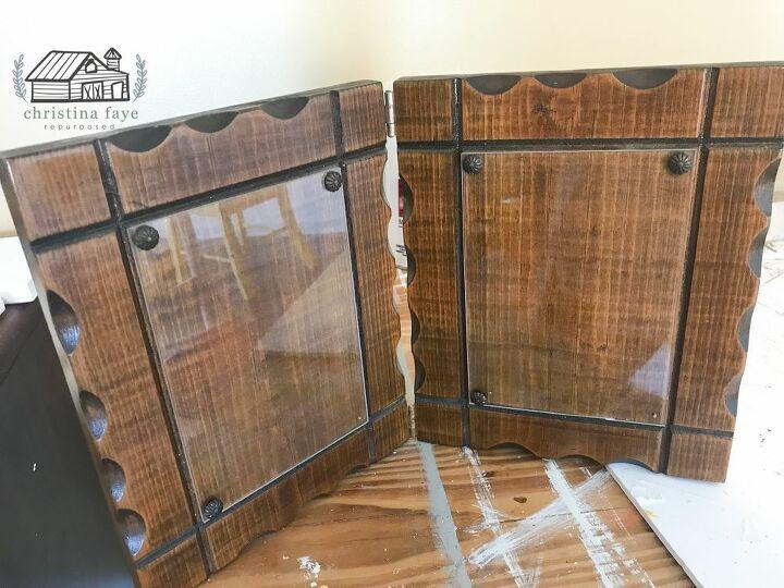 vintage frame diy makeover, Vintage Wood Frames