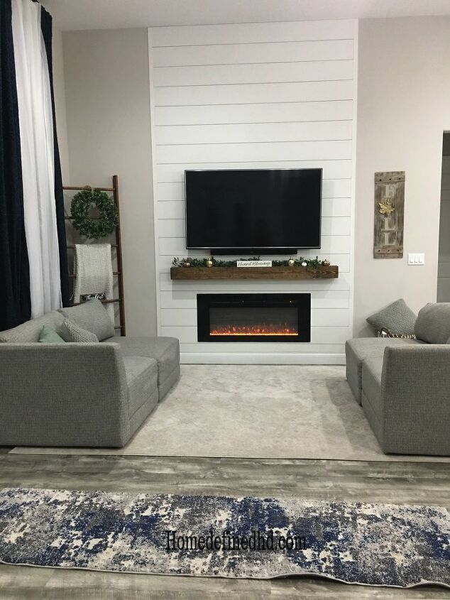 How To Make A Diy Shiplap Accent Wall Hometalk