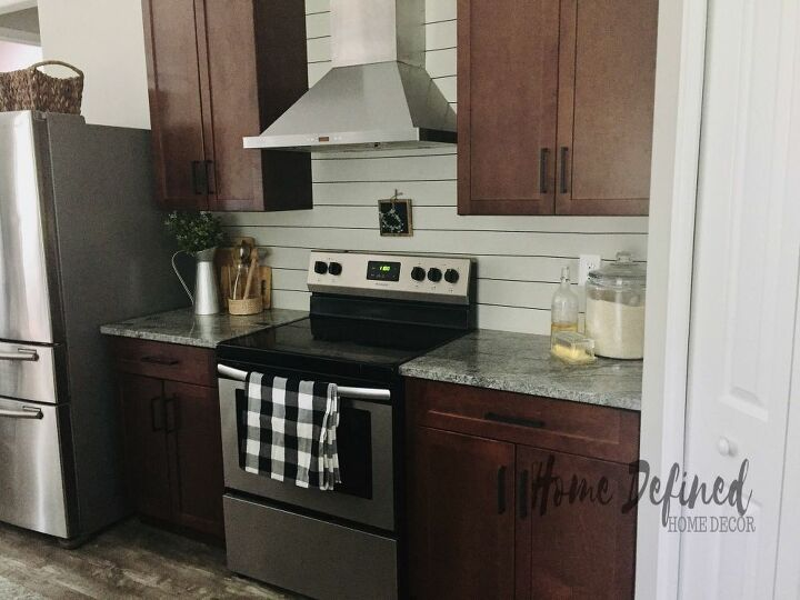 diy shiplap backsplash