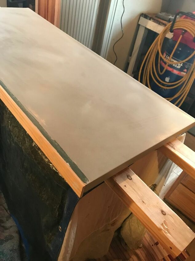 bar top replacement with a 1950 s red formica table top