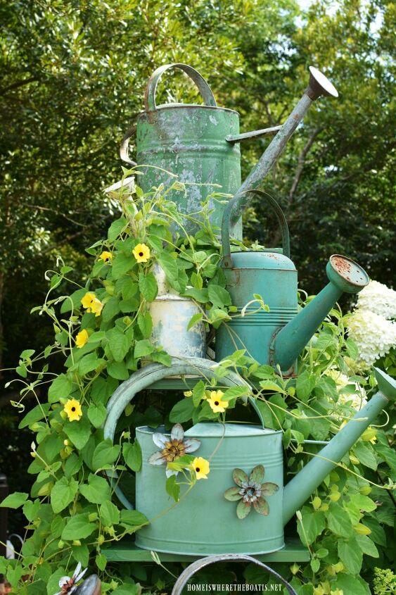 flowering vine DIY trellis