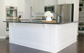DIY: How to Add Shiplap to Your Kitchen Island