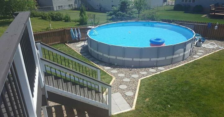 s outdoor pools, 2 Landscaped Outdoor Pool Oasis