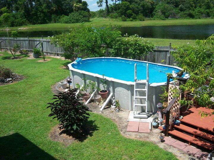 s outdoor pools, 4 Handcrafted Outdoor Pool Deck