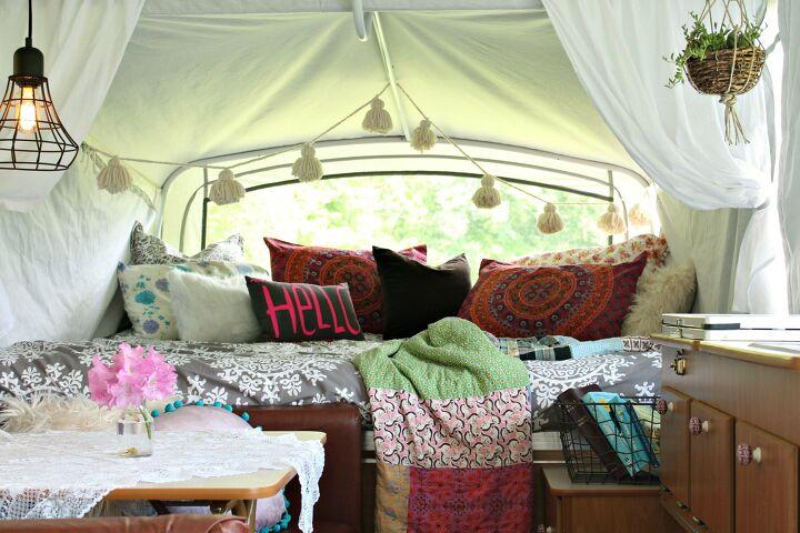 DIY camper makeover