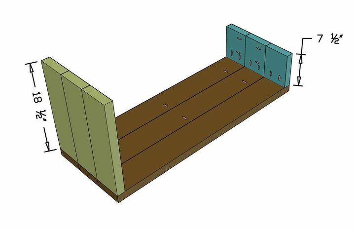 diy entryway shoe rack bench