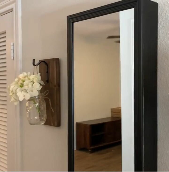 how to make a storage mirror from a cheap one from walmart