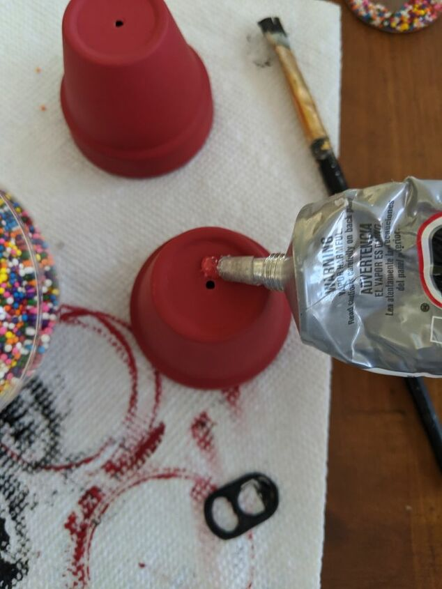 grab the kids make a vintage gumball machine christmas ornament