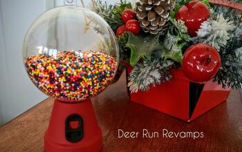 Grab the Kids! Make a Vintage Gumball Machine Christmas Ornament